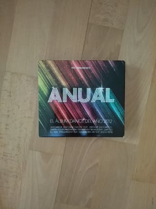 3CDs ANUAL. Álbum Dance 2012.