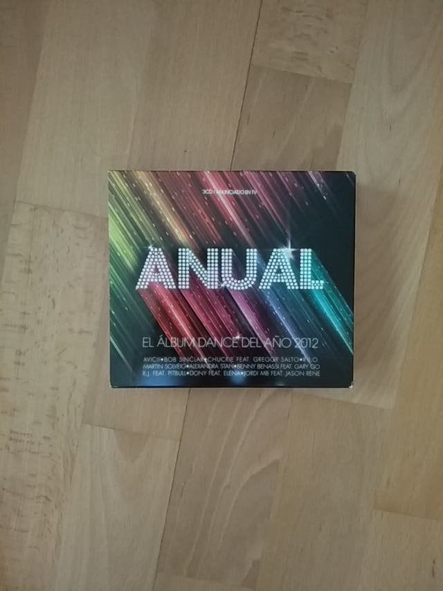 3CDs ANUAL. Álbum Dance 2012.