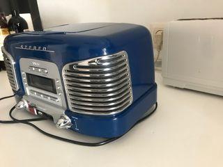 RADIO-CASETTE/CD VINTAGE