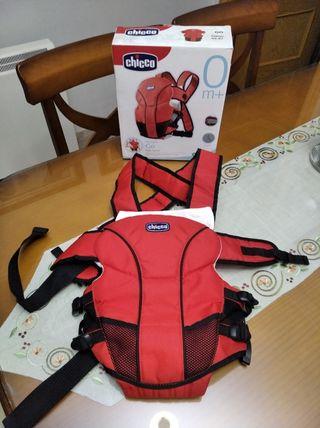 mochila para transportar a bebé