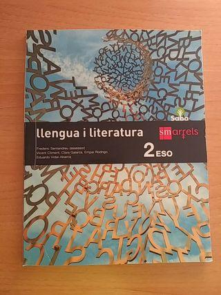 Llengua i literatura, segundo 2 ESO valenciano