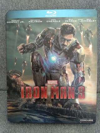 Blu-ray steelbook Iron Man 3 Marvel