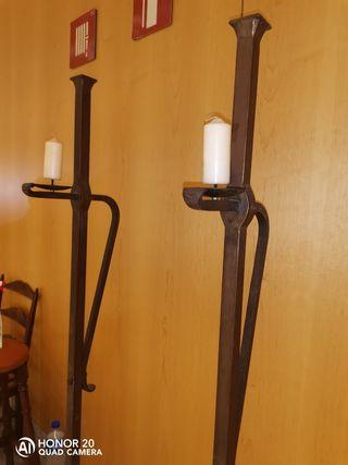 candelabros de pie