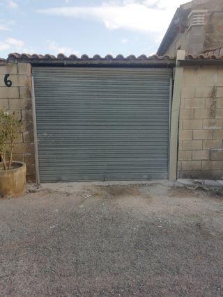 puerta de garaje metálica enrollable