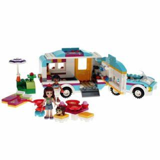 Lego Friends. La caravana de verano. Lego Original