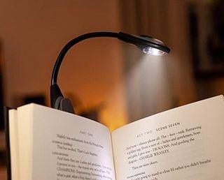 Lámara de lectura LED, para el libro.