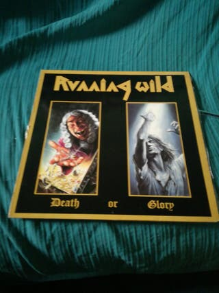 Disco de Running Wild Death or Glory