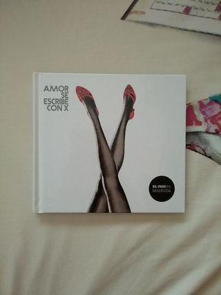 """CD """"Amor se escribe con X"""""""