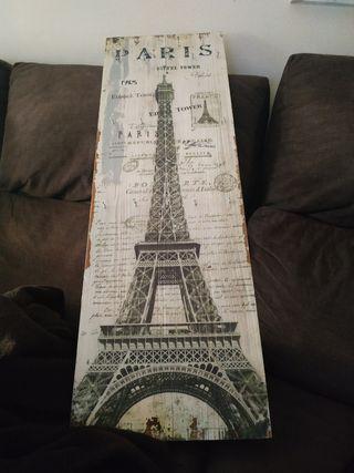 organizador cuadro torre Eiffel
