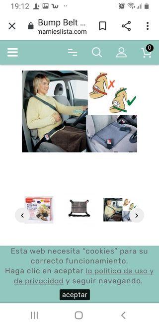 Cinturón coche