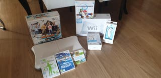 Videoconsola Wii+accesorios+juegos