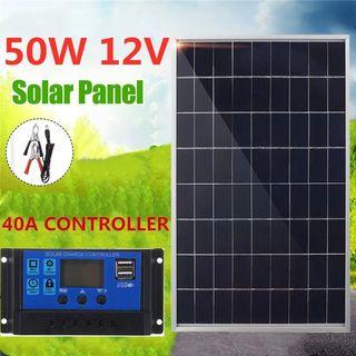 Panel solar 50 wats