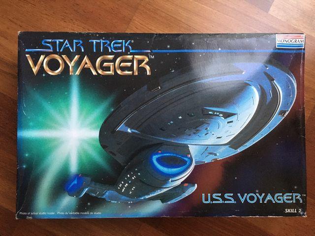 Maqueta del USS VOYAGER