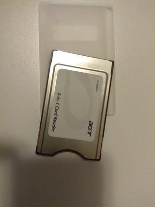 tarjeta PCMCIA 5-in-1 sd/mmc/ms