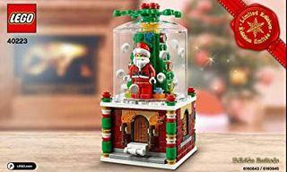 Lego. Bola de Nieve. Original. Navidad
