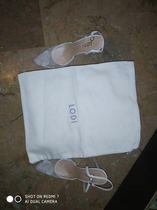 Zapatos de novia marca lodi 38