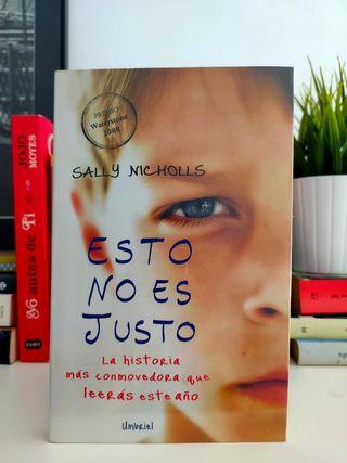 Libro Esto no es justo, Sally Nicholls