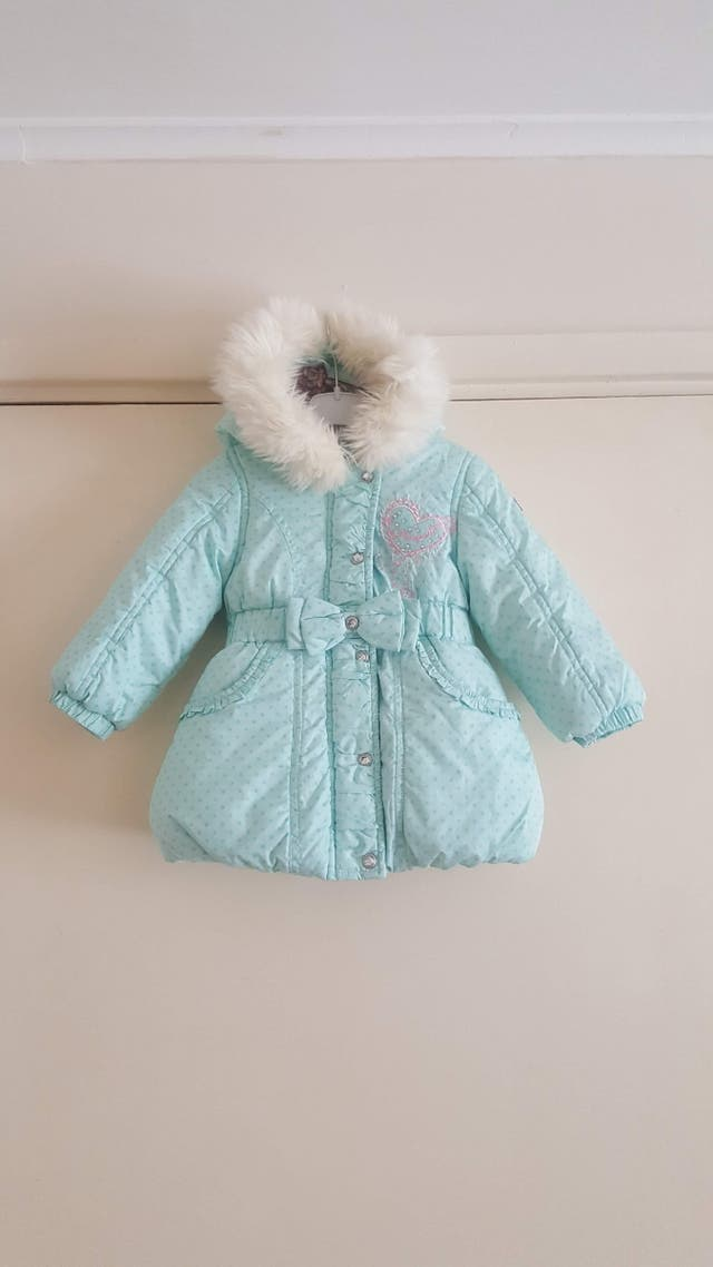 Pampolina girl winter design coat