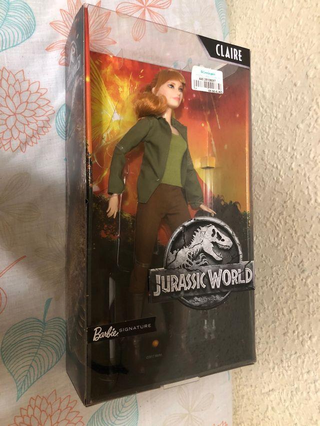 Muñeca Barbie Jurassic World Claire Nueva