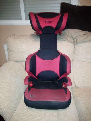 silla de niños para el coche