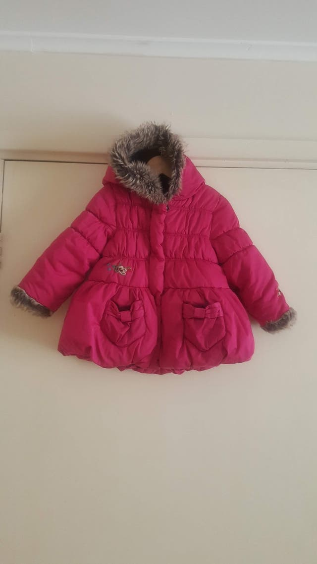 Catimini girl design winter coat