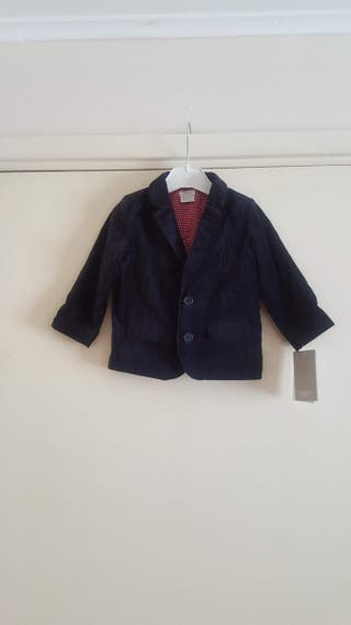 Mamas and Papas velvet boy jacket