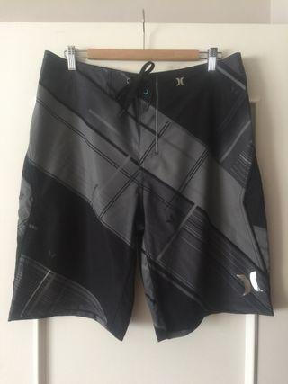 Bañador hurley Phantom negro y gris 34/44