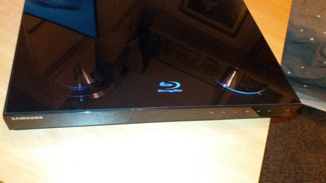 SAMSUNG - COMBO BLU-RAY DISC PLAYER