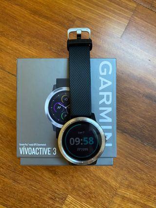 Reloj deportivo Garmin vívoactive 3 - negro