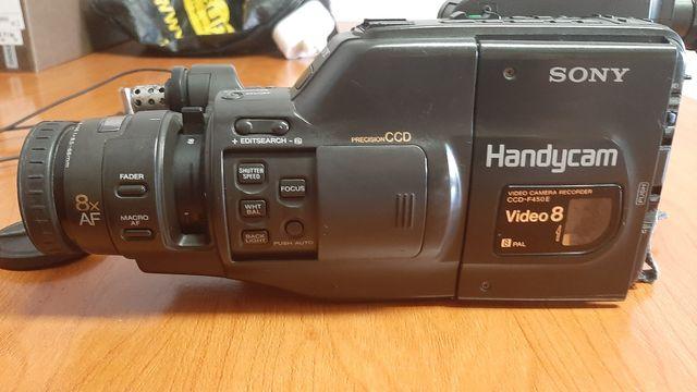 cámara Sony 8 para reparar + batería y cargador