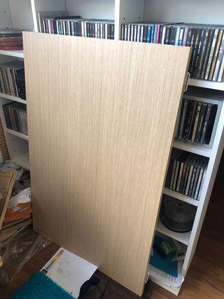 Mesa estudio plegable 90x60 cm