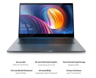 """Xiaomi Notebook Pro 15"""" para piezas"""