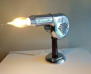 Lámpara de secador vintage