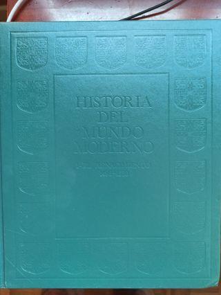 Libros Historia del Mundo Moderno