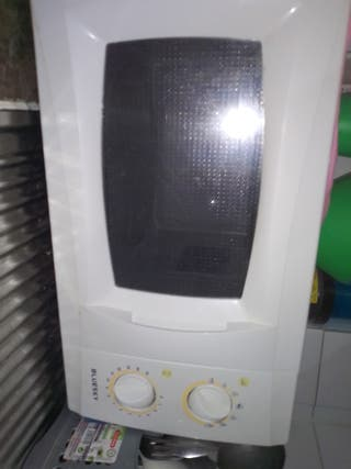 microondas funciona sin plato