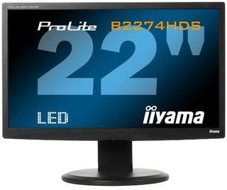 "Monitor 22"" LED 1920 x 1080 Pixeles Full HD"