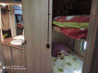 Caravana SunRoller Tango instalada en BergaResort