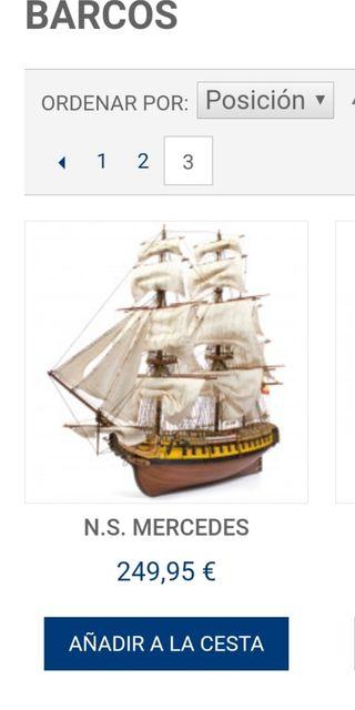 barco de modelismo