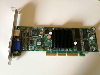 Tarjeta gráfica AGP Nvidia Geforce2 MX400