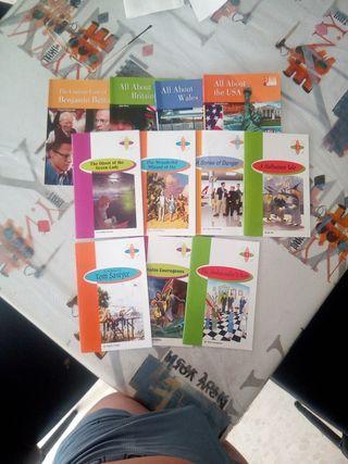 Libros de inglés colegio/instituto.