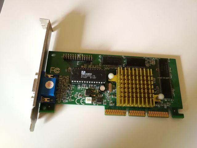 Tarjeta gráfica AGP Nvidia RIVA TNT2 M64