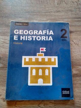 Libro Geografía E Historia 2° eso Oxford