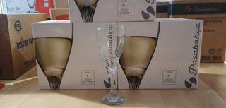 Copa de agua o vino blanco Twist 180cc