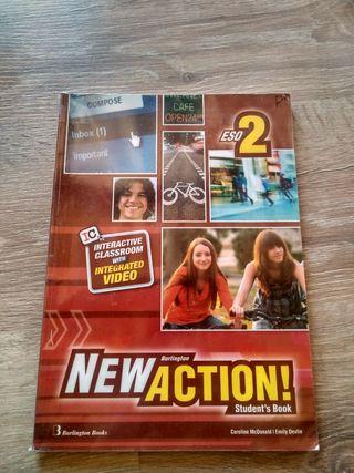 Libro inglés 2° eso New Action Ed. Burlington