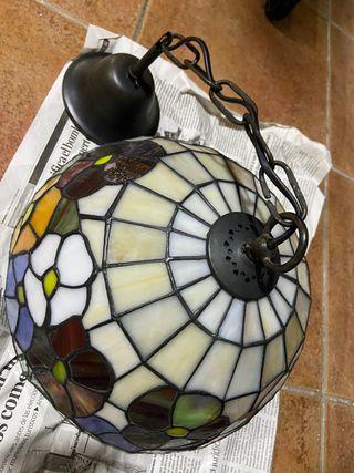 Lámpara pequeña Tiffany