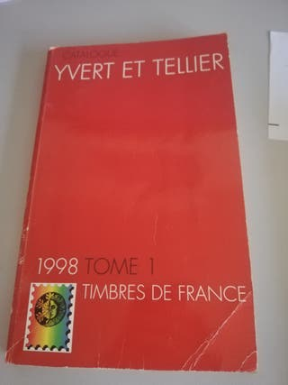 Catálogo de sellos Yvert et Tellier Francia