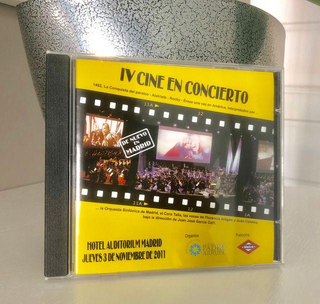 CD Cine en concierto