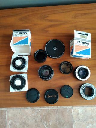 lote antiguo piezas cámara fotos / video