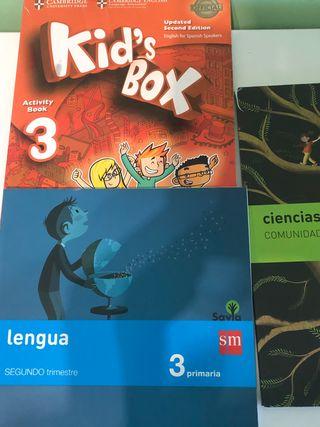 Lotes libros tercero de primaria