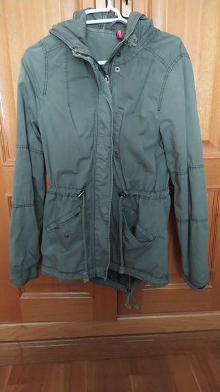 chaqueta verde H&M